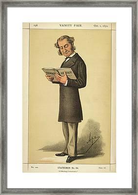 A Statesman Framed Print