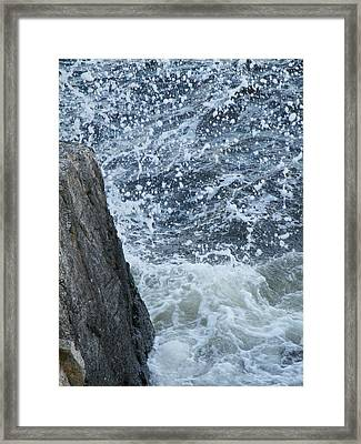 A Stillness In The Storm  Framed Print