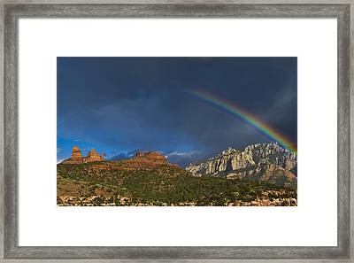 A Stitch In Time Framed Print by Tom Kelly