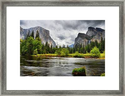 A Storm Draws Near  Framed Print by Lynn Bauer