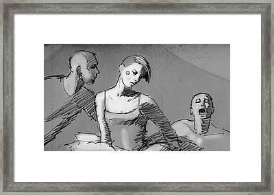 A Story Framed Print