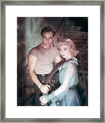 A Streetcar Named Desire  Framed Print by Silver Screen