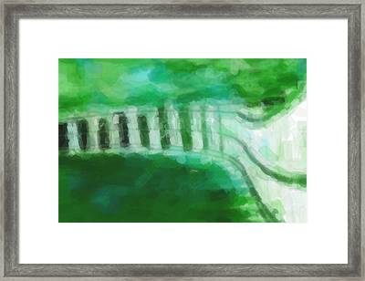 A Stroll Along The Seafront Framed Print