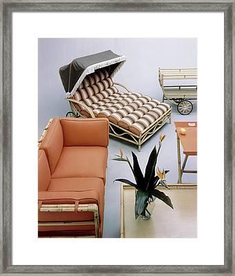 A Studio Shot Of Furniture Framed Print