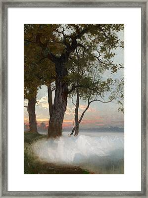 A Study For The Dancing Fairies Framed Print