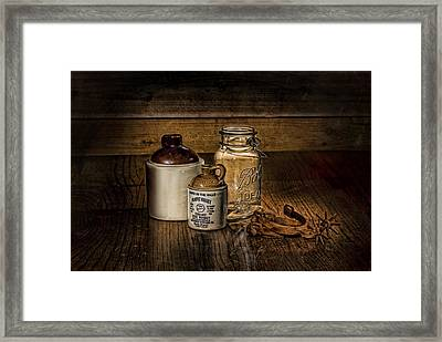 A Study In Brown Framed Print