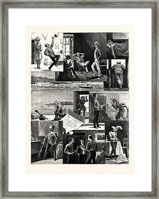 A Subalterns Experiences During The Recent Russian War Framed Print by English School