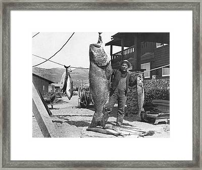 A Successful Day Of Fishing Framed Print