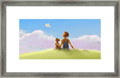 A Summer Breeze Framed Print by Nate Owens