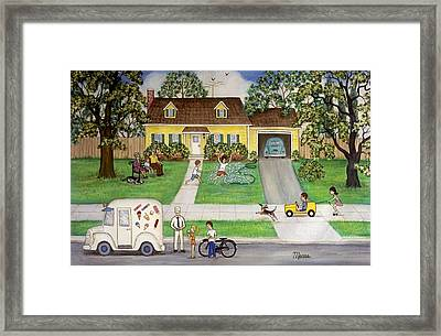 A Summer Day Framed Print by Linda Mears