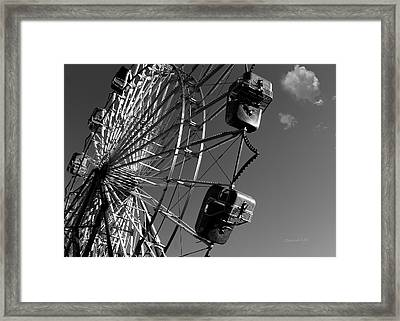 A Summer Ride Framed Print by Donna Lee