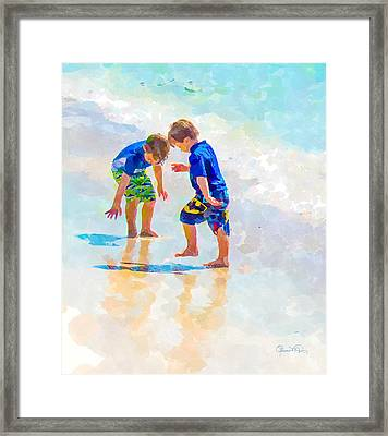 A Summer To Remember Iv Framed Print by Susan Molnar