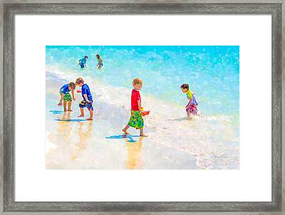 A Summer To Remember Framed Print