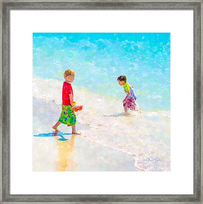 A Summer To Remember V Framed Print by Susan Molnar