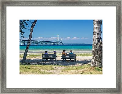 A Summer's Afternoon  Framed Print