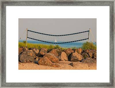 A Summers End Framed Print