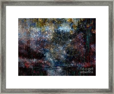 A Summer's Evening Framed Print