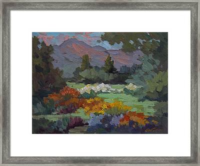 A Sunny Afternoon In Santa Barbara Framed Print