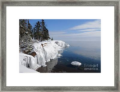 A Superior Winter Day #2 Framed Print by Sandra Updyke