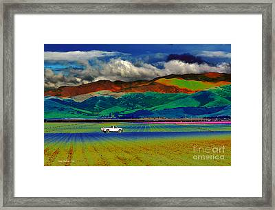 Framed Print featuring the photograph A Surreal Ride by Susan Wiedmann