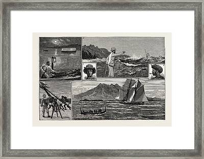 A Surveying Cruise Among The Solomon Islands 1 Framed Print