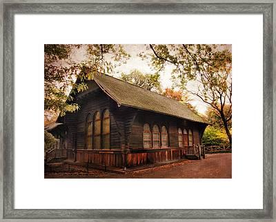 A Swedish Cottage Framed Print by Jessica Jenney