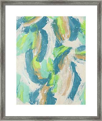 A Sweet Feat Framed Print by Leslie Saeta