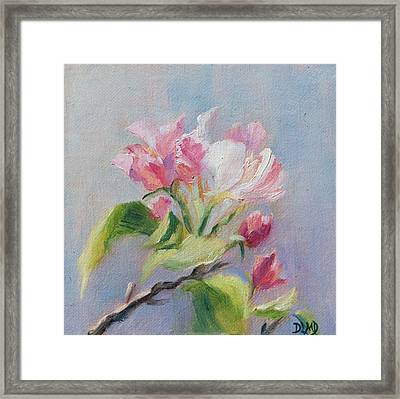 A Sweet Scent Framed Print by Debbie Lamey-MacDonald
