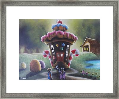 A Sweet Sight Framed Print by Gabriel Cajina
