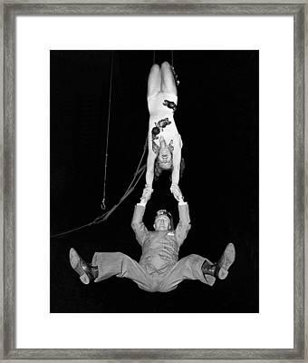 A Swinging Shriner Framed Print by Underwood Archives