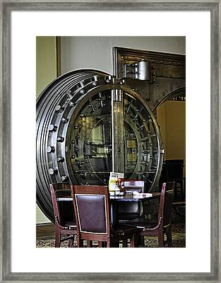A Table For Four Framed Print by Image Takers Photography LLC - Laura Morgan