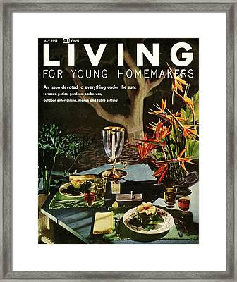 A Table Setting Framed Print