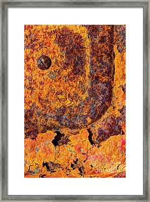 A Tad Rusty Framed Print by Heidi Smith