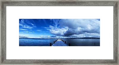 A Tahoe Winters Dream Framed Print by Brad Scott