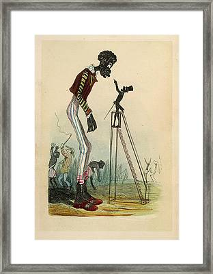 A Tall Slave Framed Print by British Library