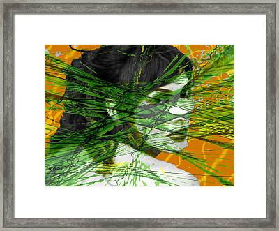 A Tangled Web Framed Print by Seth Weaver