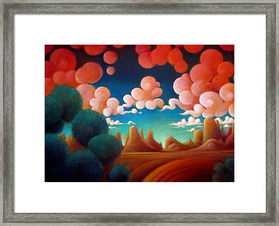 Framed Print featuring the painting A Taste Of Summer by Richard Dennis
