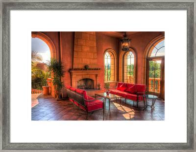 A Taste Of Tuscany Framed Print by Heidi Smith
