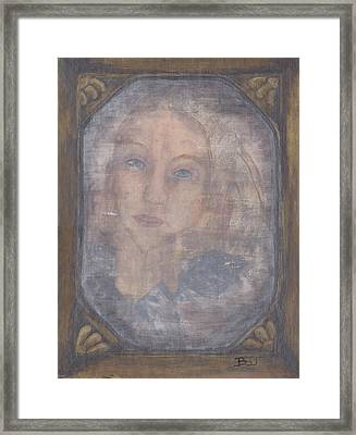 A Tear For A Memory Framed Print by Barbara St Jean