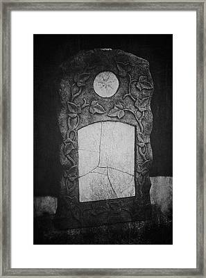 A Tear In The Fabric Framed Print by Odd Jeppesen