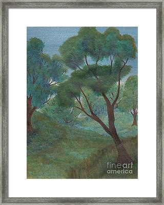 A Thought Of Summer Framed Print