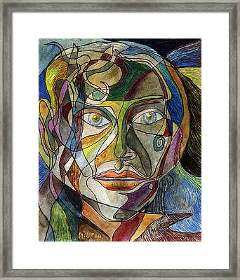 A Thousand Strands Of Her Hair Framed Print