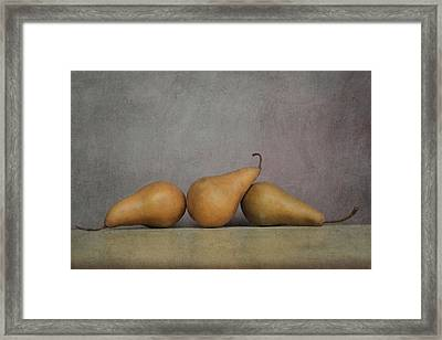 A Threesome Framed Print