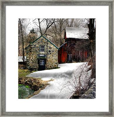 A Time Passing Framed Print by Marcia Lee Jones