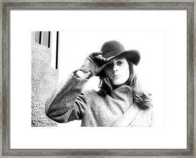 A Tip Of The Hat Framed Print