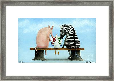 A To Z... Framed Print by Will Bullas