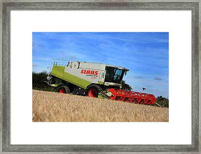 A Touch Of Claas Framed Print by Paul Lilley
