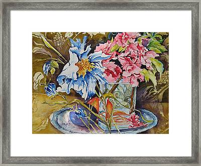 A Touch Of Class Framed Print by Joy Skinner