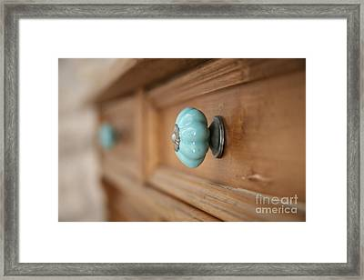 Framed Print featuring the photograph A Touch Of Colour ... by Lynn England