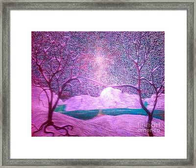 A Touch Of Love Framed Print